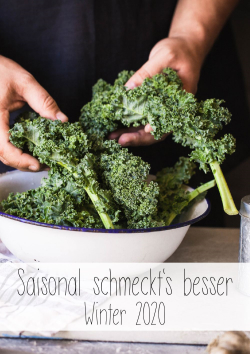Saisonal schmeckts besser Winter