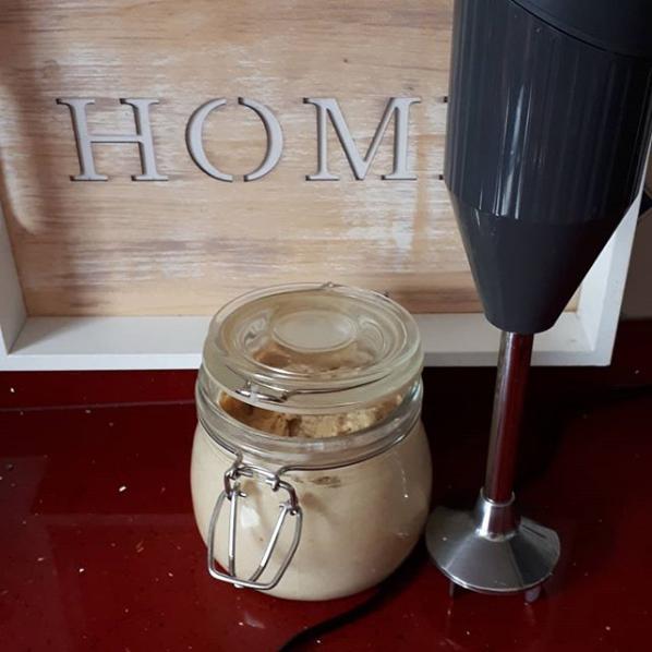 Hummus mit Kichererbsen aus dem Slowcooker