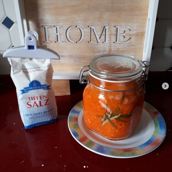 Instagram fermentierte Karotten