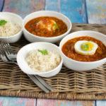 Eier-Curry Kenia-Stil