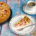 Rhabarberkuchen à la Nielsens Kaffeegarten auf Sylt