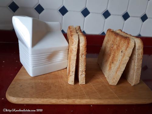 Kastenbrot mit Pfeffer und der perfekte Toast