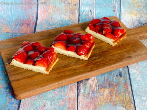 Erdbeer-Käseschnitten