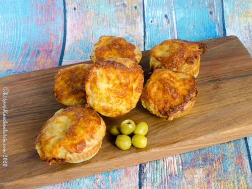 Oliven-Mozzarella-Muffins