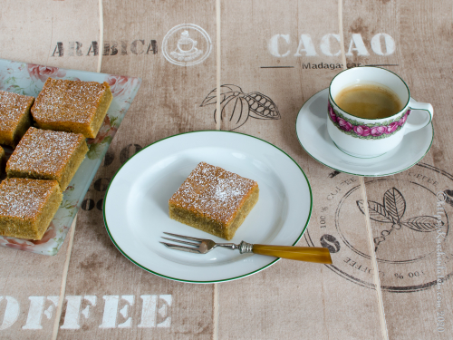 Hasselnötskaka med kaffe - Haselnusskuchen mit Kaffee