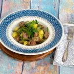 Moppelkotze – Eintopf mit grünen Bohnen