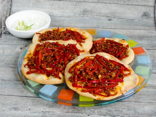Paprika-Fladen - Biberli ekmek