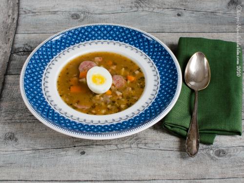 Polnische saure Suppe - Żurek