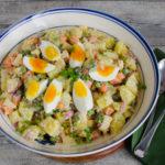 Polnischer Kartoffelsalat – Sałatka ziemniaczana