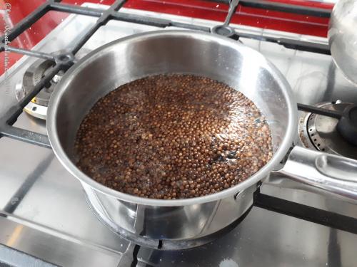 Ingwer-Koriander-Tee