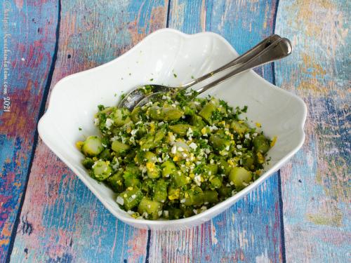 Asparagus Salad With Hard-Boiled Eggs