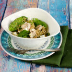 Spinach and Mushroom Salad with Quinoa