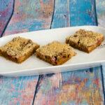 Rhabarber-Blechkuchen, glutenfrei
