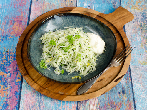 Kohlrabi-Limetten-Salat