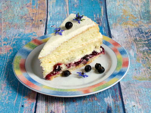 Johnannisbeer-Anis-Torte