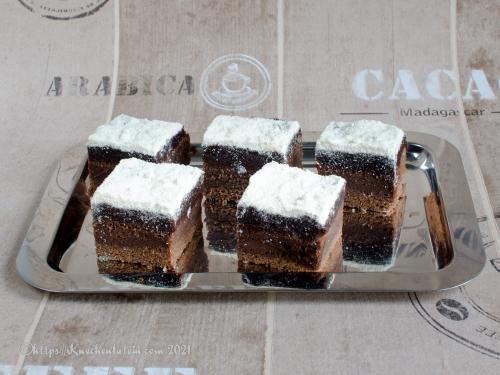 Den du ved nok kage - Schokoladenkuchen mit Kokosglasur