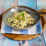 Pasta with Parsnip and Bacon